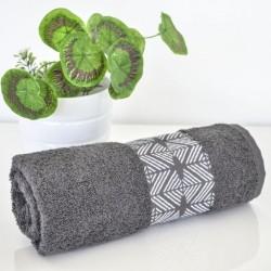 Хавлиени кърпи Ева 500гр - сив